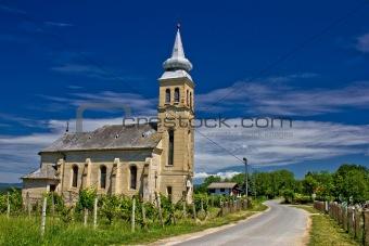 Church in Erdovec village, Croatia