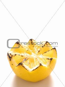 grilled lemon