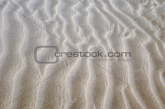 Pattern in sand