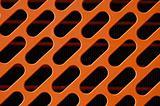 orange radiator grill