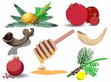 Jewish Holidays Symbols Pack
