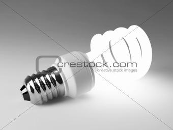 Fluorescent lamp bulb
