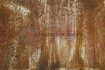 background rusty metal