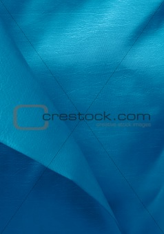 Beautiful trendy blue Silk