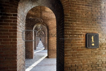 Arches at Fort Jefferson