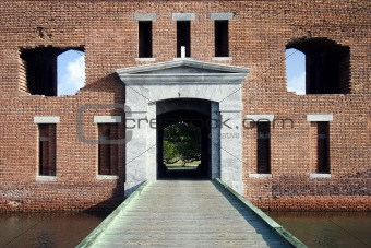 Fort Jefferson Sallyport