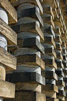 powerful colonnade