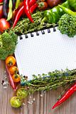 Open notebook and harvest.