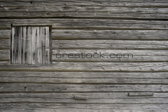 Gray wooden wall