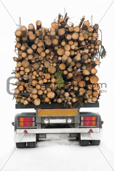 Timber truck