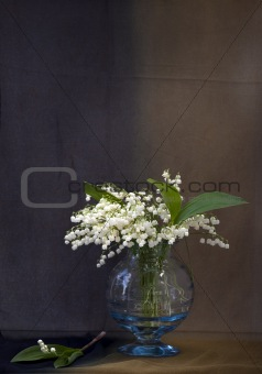 Still life with lily-of-the-valley