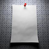 Blank paper on patterns