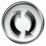 refresh icon grey