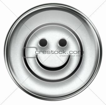 Smiley Face grey