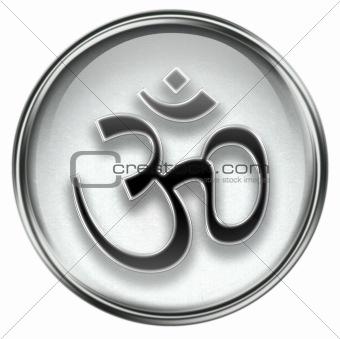 Om Symbol icon grey