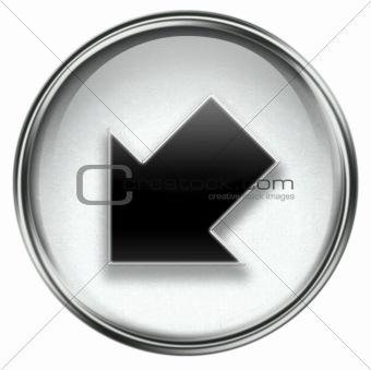 Arrow icon grey