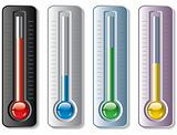 set of thermometers