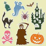 Halloween sticker