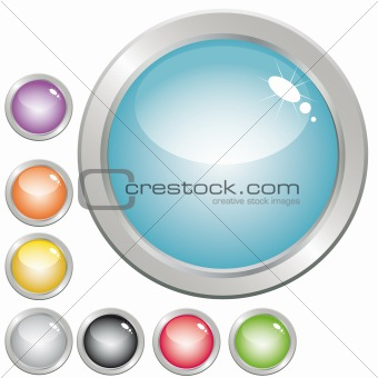 Buttons for web design.