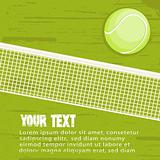 Grunge tennis background