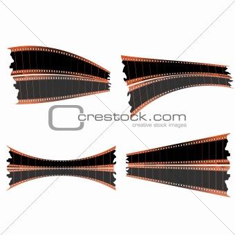35mm film strips