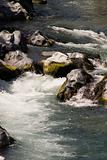 rapid mountain river