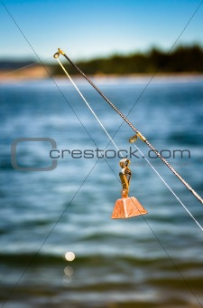 Fishing rod with a bell