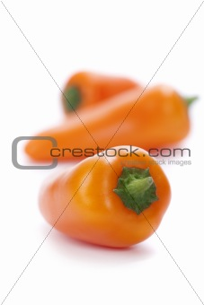 orange peppers