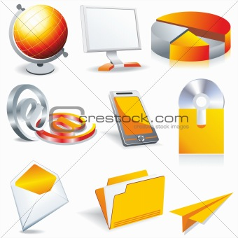 web business &amp; office icons