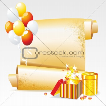 Vector Background for your Congratulations