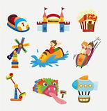 cartoon playground icons