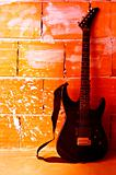 Electric guitar background