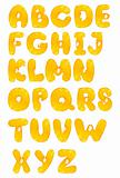 orange fruit alphabet