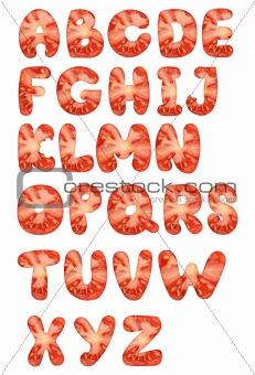 tomato alphabet