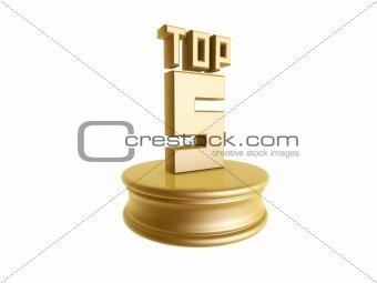 top five in rank list