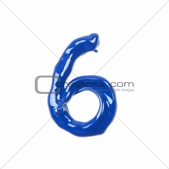 blue oil numbers - six