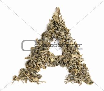 green tea alphabet