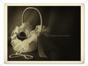 bridal basket photo