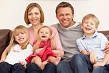Family Group On Family Group On SofaSFamily Group On Sofaofa