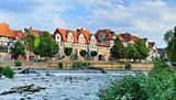 Idyllic city Hann Münden in Germany