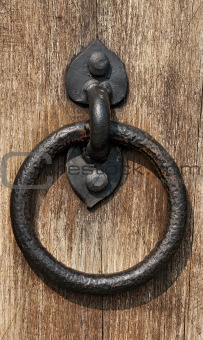Circle doorhandle
