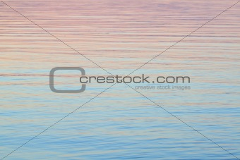Evening Water Background