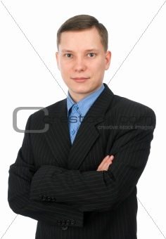 Portrait of a confident young businessman