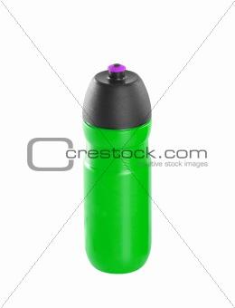 green sport bottle