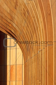 Architecture  wood abstract background