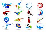 Set of abstract elements for design,More similar articles, please visit my portfolio