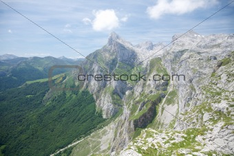 great peak in Cantabria