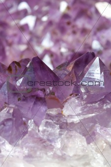 Amethyst Geode Closeup