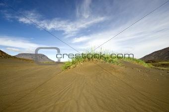 Volcanic Sand Dune