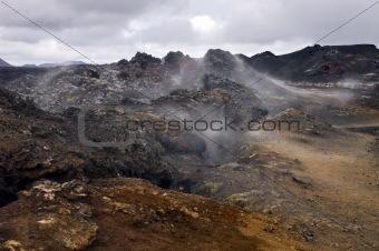 Active Volcanic Fissure